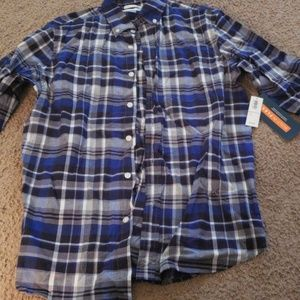 Old navy  mens long sleeve button down top  sz sma